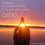 dissolved into your lotus feet - rajneesh