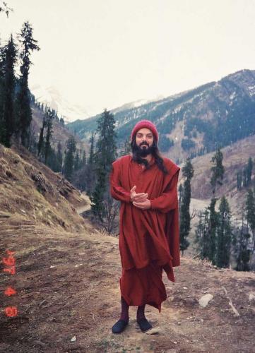 manali 1996  - swami ozen rajneesh 1