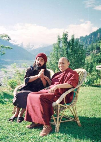 manali 1996  - swami ozen rajneesh 11