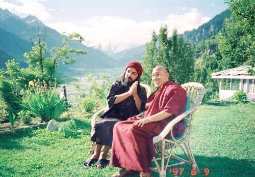 manali 1996  - swami ozen rajneesh 12