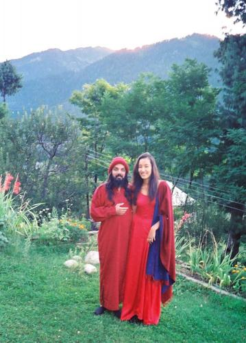 manali 1996  - swami ozen rajneesh 13