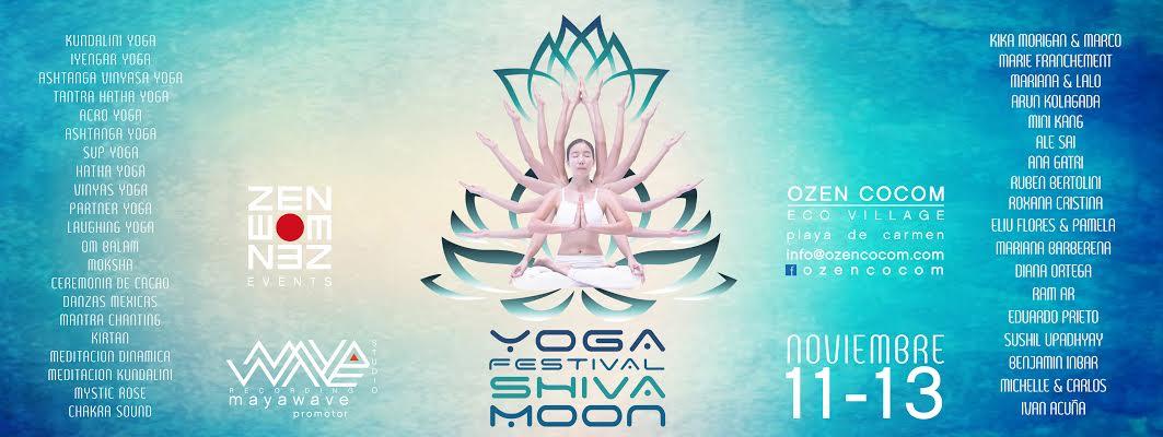 SHIVA moon YOGA festival   ozenrajneesh